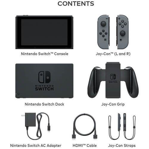 Immagine di Nintendo Switch with Gray Joy‑Con™