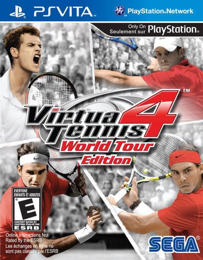 Virtua Tennis 4 - World Tour Edition PSVITA