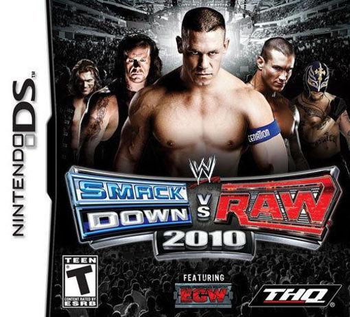 Nintendo DS - WWE SmackDown vs. Raw 2010
