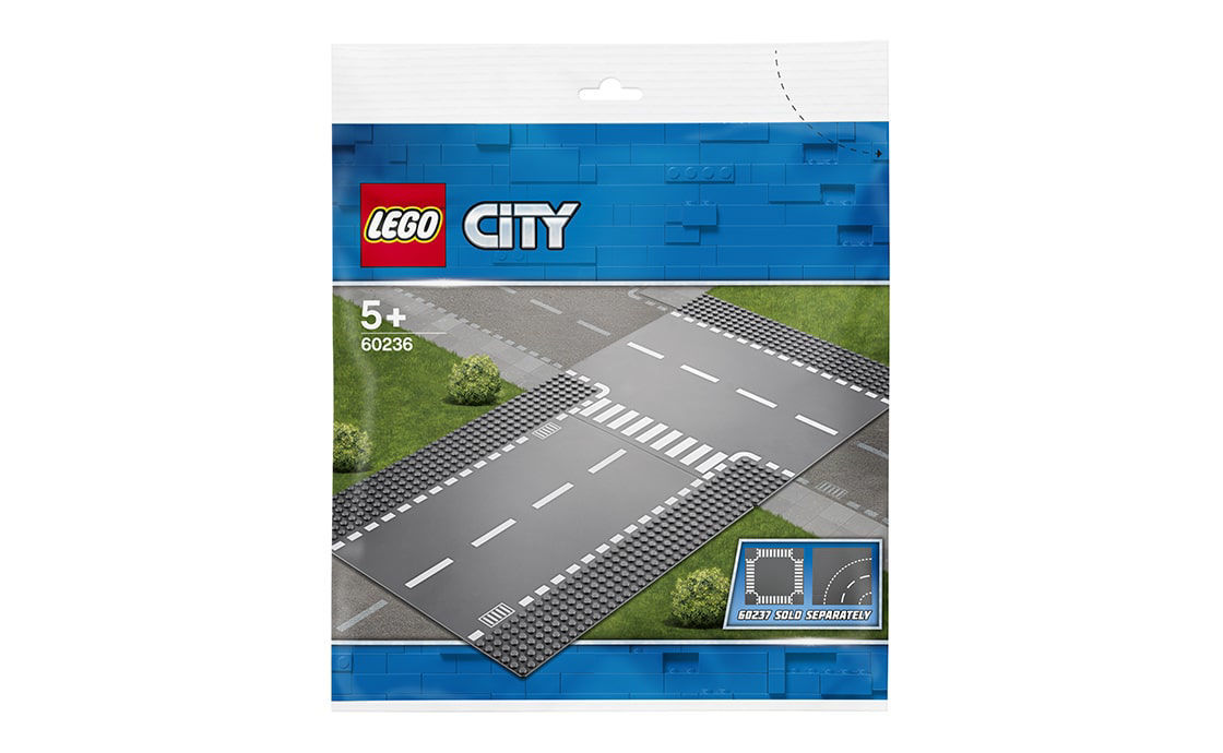 Lego City Straight and T-junction (60236)