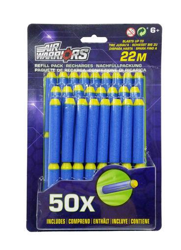 Air Warriors Refeel pack - 50 blue arrows