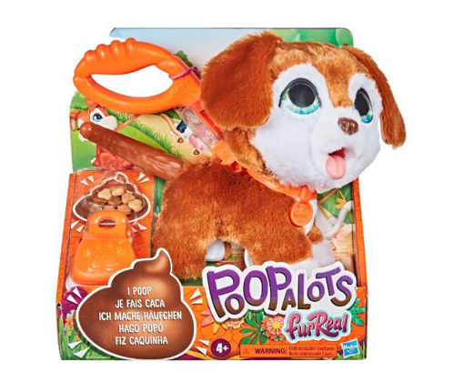 FurReal poopalots brown dog