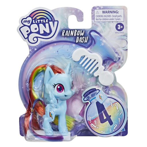 My Little Pony Magic pony with comb Rainbow Dash