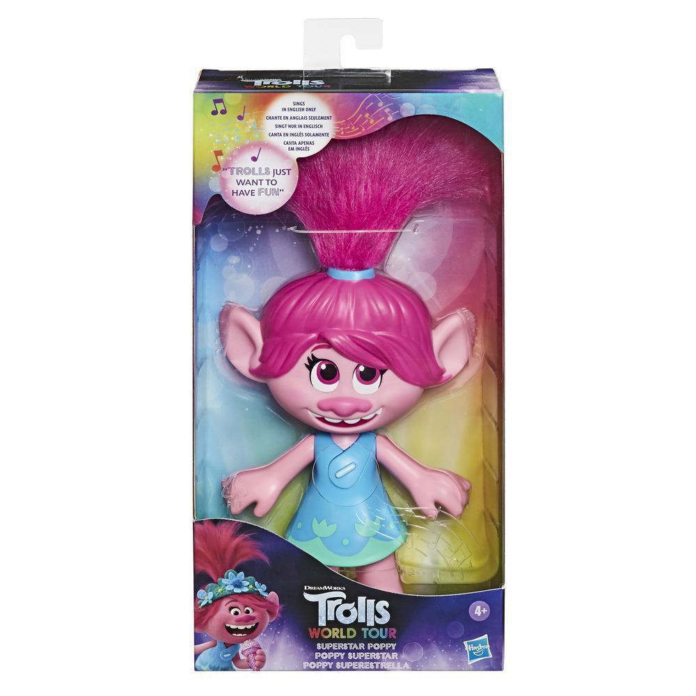 DreamWorks Trolls World Tour Superstar Poppy Doll