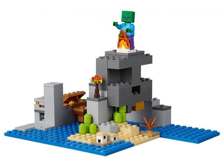 Lego Minecraft The Pirate Ship Adventure