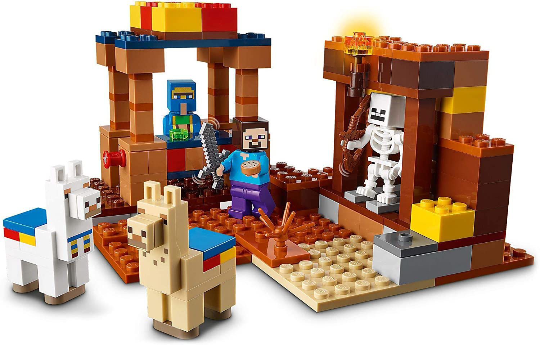 Imagen de Lego Minecraft The trading post 21167