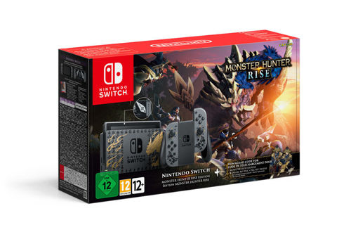 Nintendo Switch MONSTER HUNTER RISE Deluxe Edition