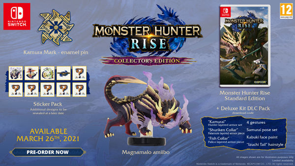 Collector Pack Monster Hunter Rise