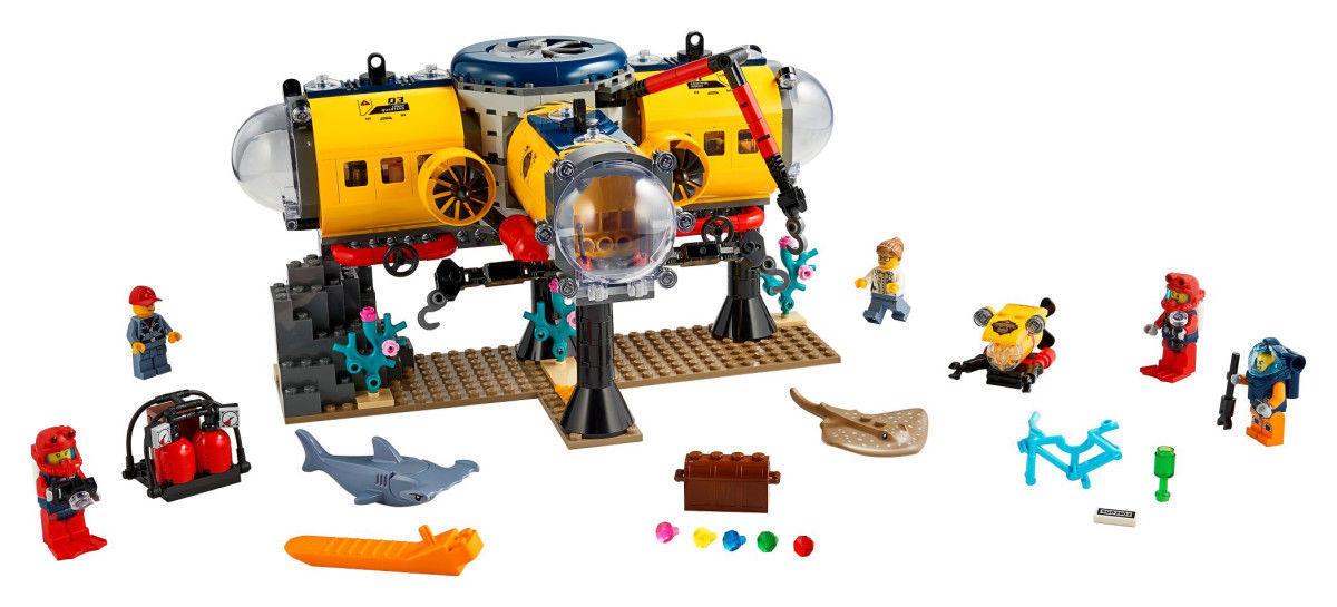 Lego City - Marine Research Base 60265
