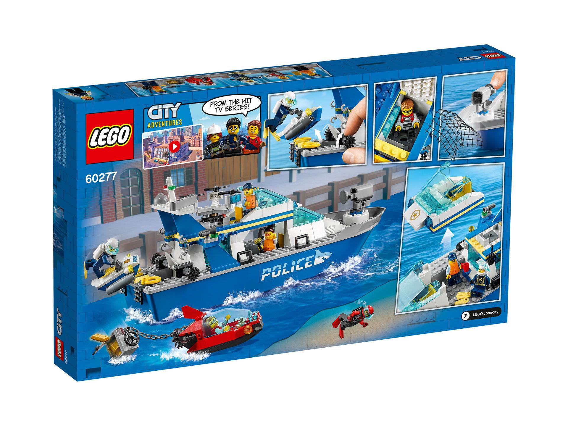 Lego City - Police Patrol Boat 60277