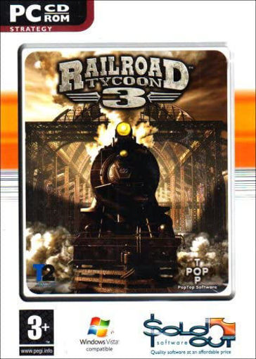 Railroad Tycoon 3 PC CD Rom (PC)