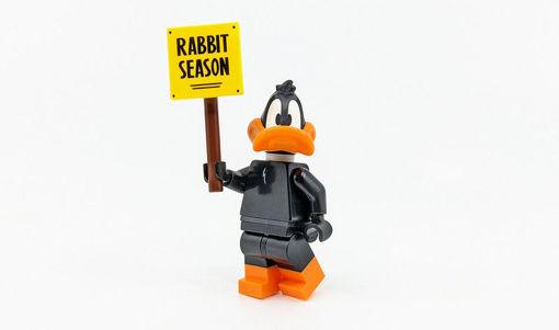 Lego minifigures - Daffy Duck