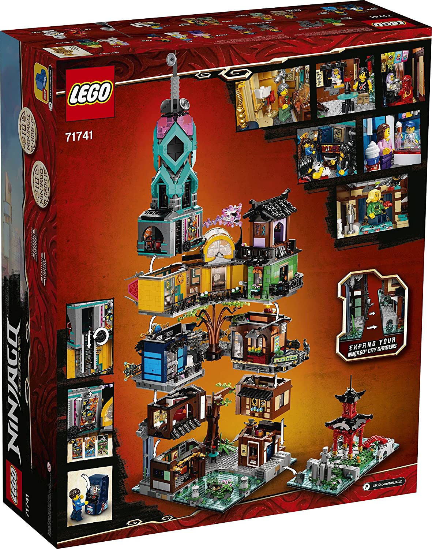 Lego NINJAGO® City Gardens 71741