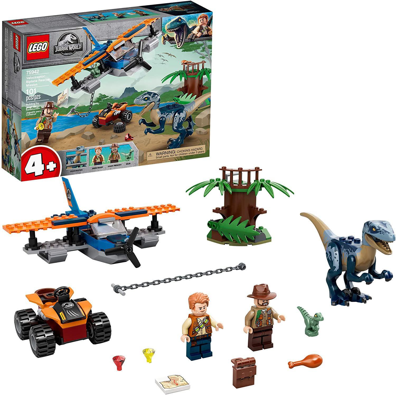 Lego Velociraptor: Biplane Rescue Mission 75942