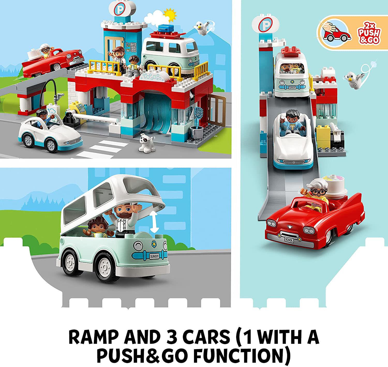 Lego Parking Garage and Car Wash 10948