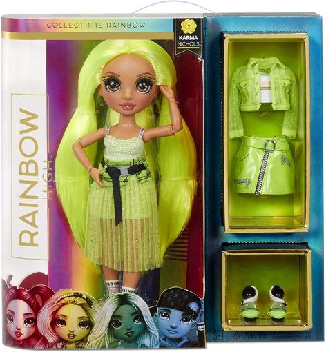 Rainbow High FASHION DOLL- Karma Nichols