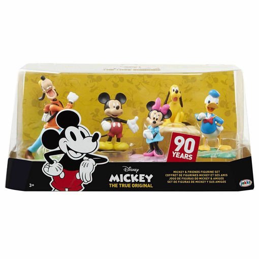 Disney Mickey & Friends Figurines Set 90 years The True Original Collection