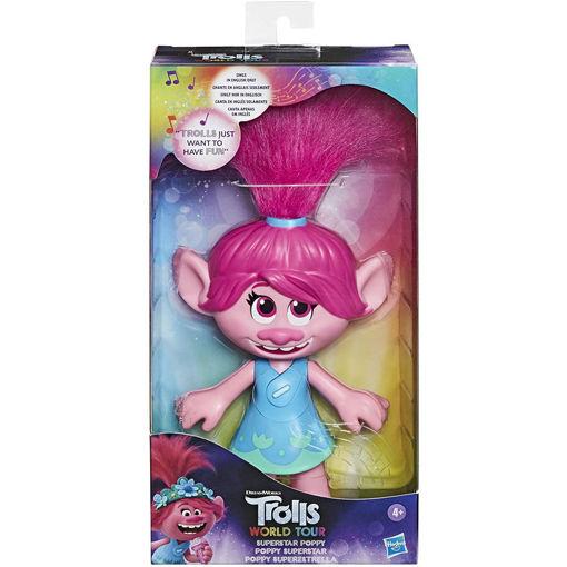 Trolls World Tour Poppy Superstar singing doll
