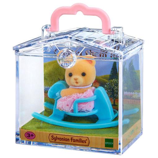 משפ' סילבניאן - תינוק בתיק נשיאה דוב משפחת סילבניאן