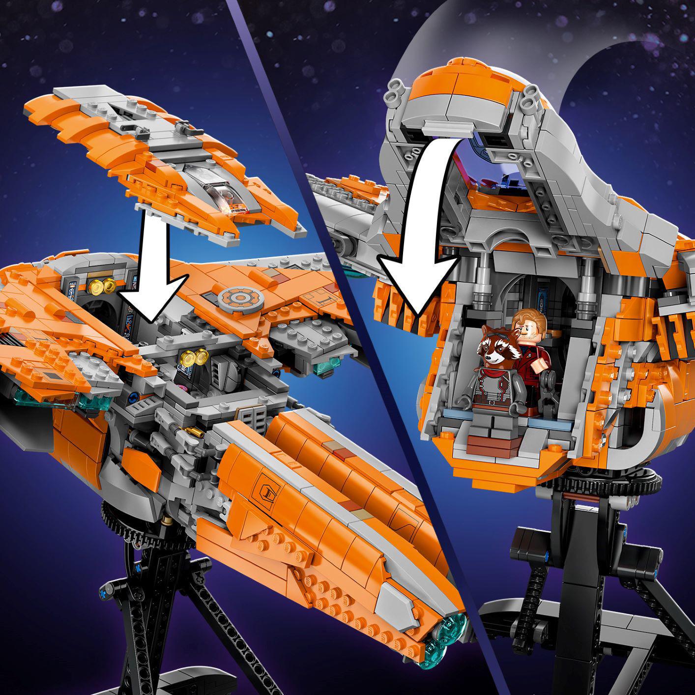 Lego The Guardians' Ship 76193