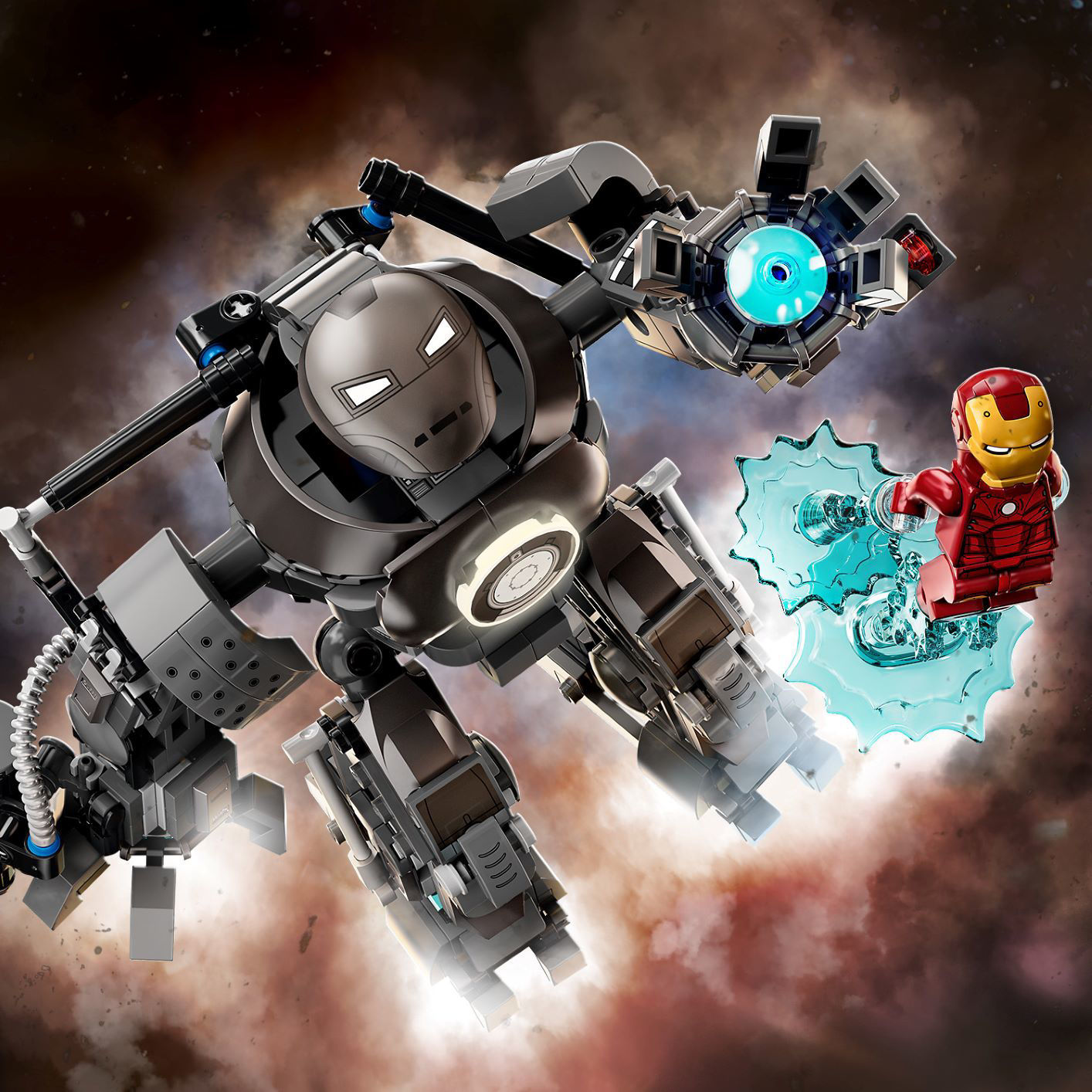 Lego Iron Man: Iron Monger Mayhem 76190