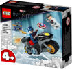 Lego Captain America and Hydra Face-Off 76189
