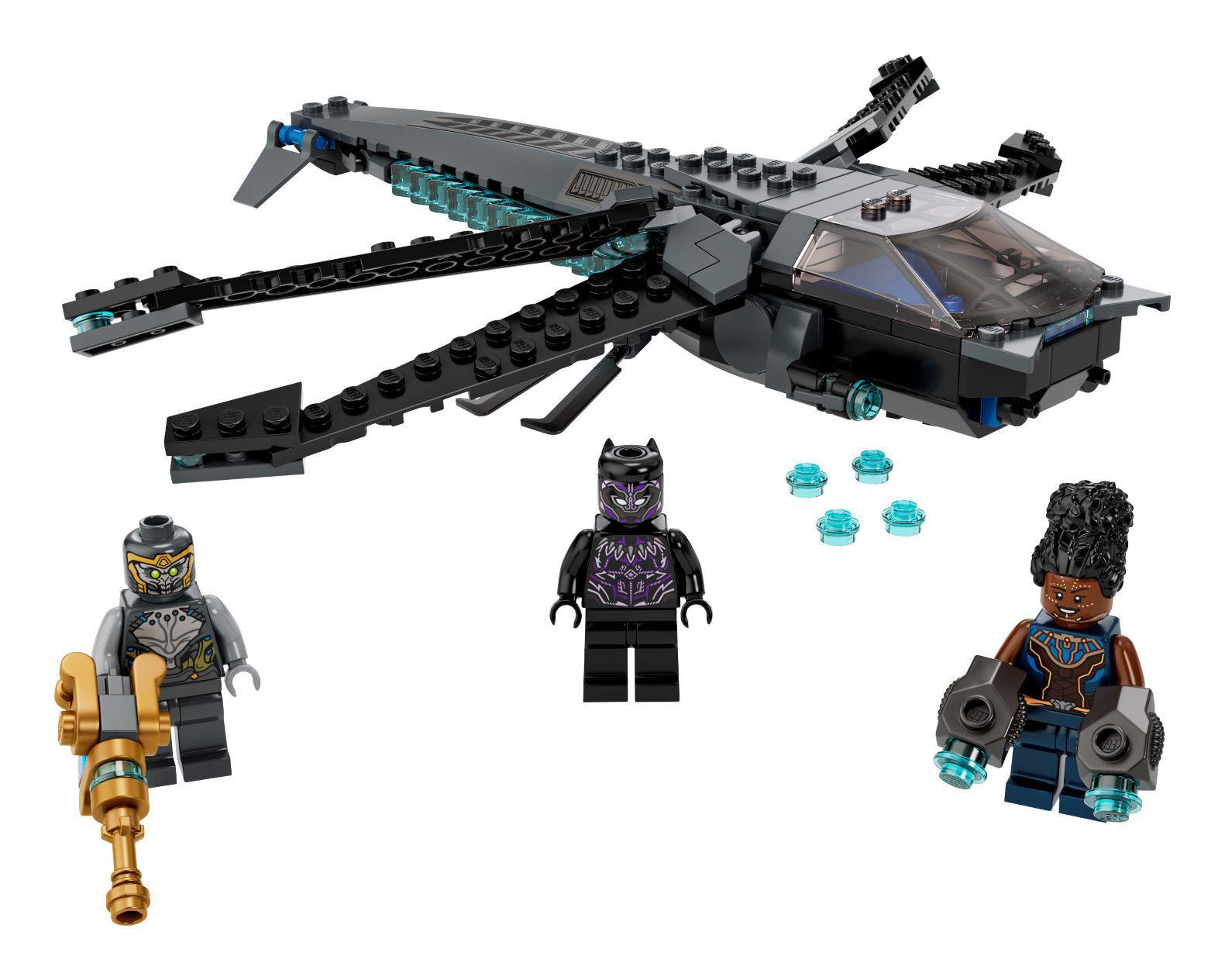 Lego Black Panther Dragon Flyer 76186