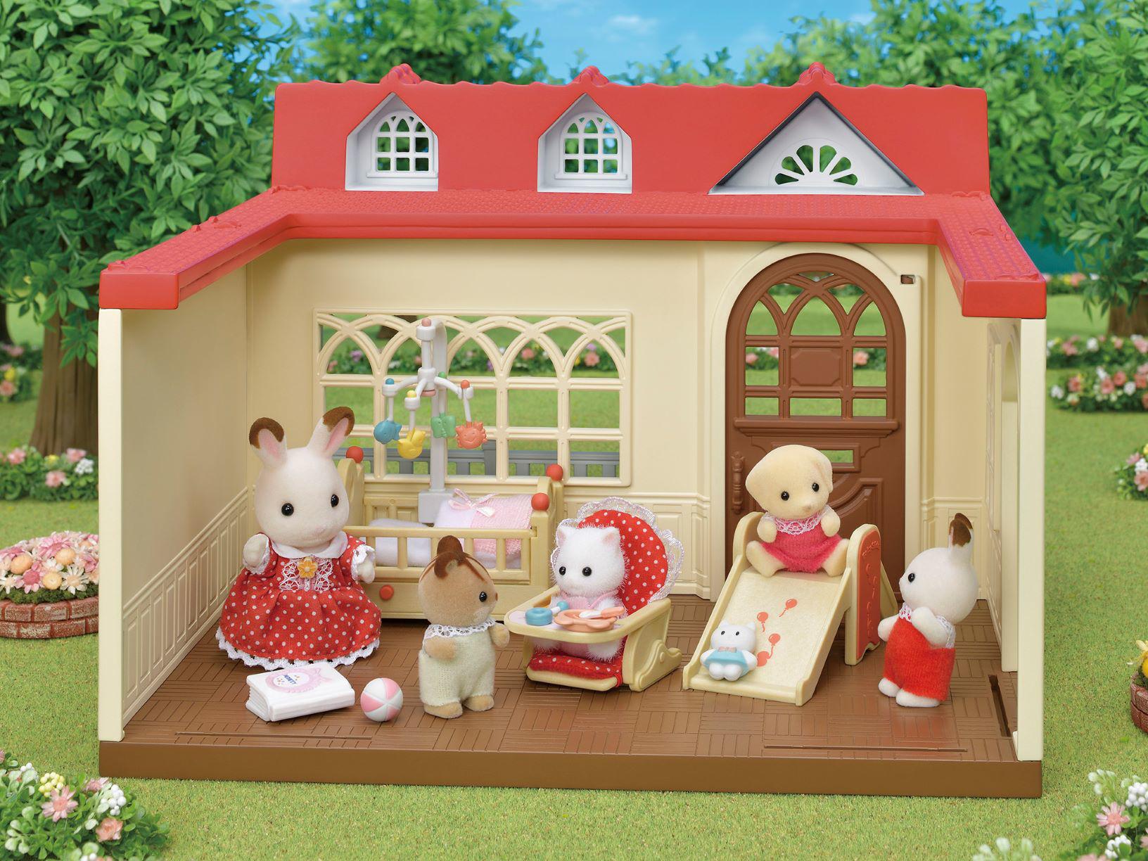 Sylvanian Families - Sweet Raspberry Home 5393