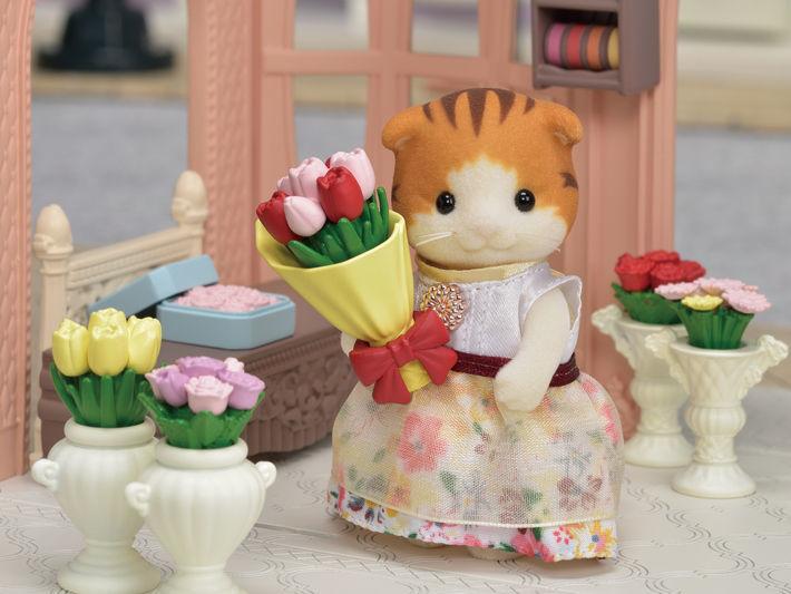 Sylvanian Families Blooming Flower Shop