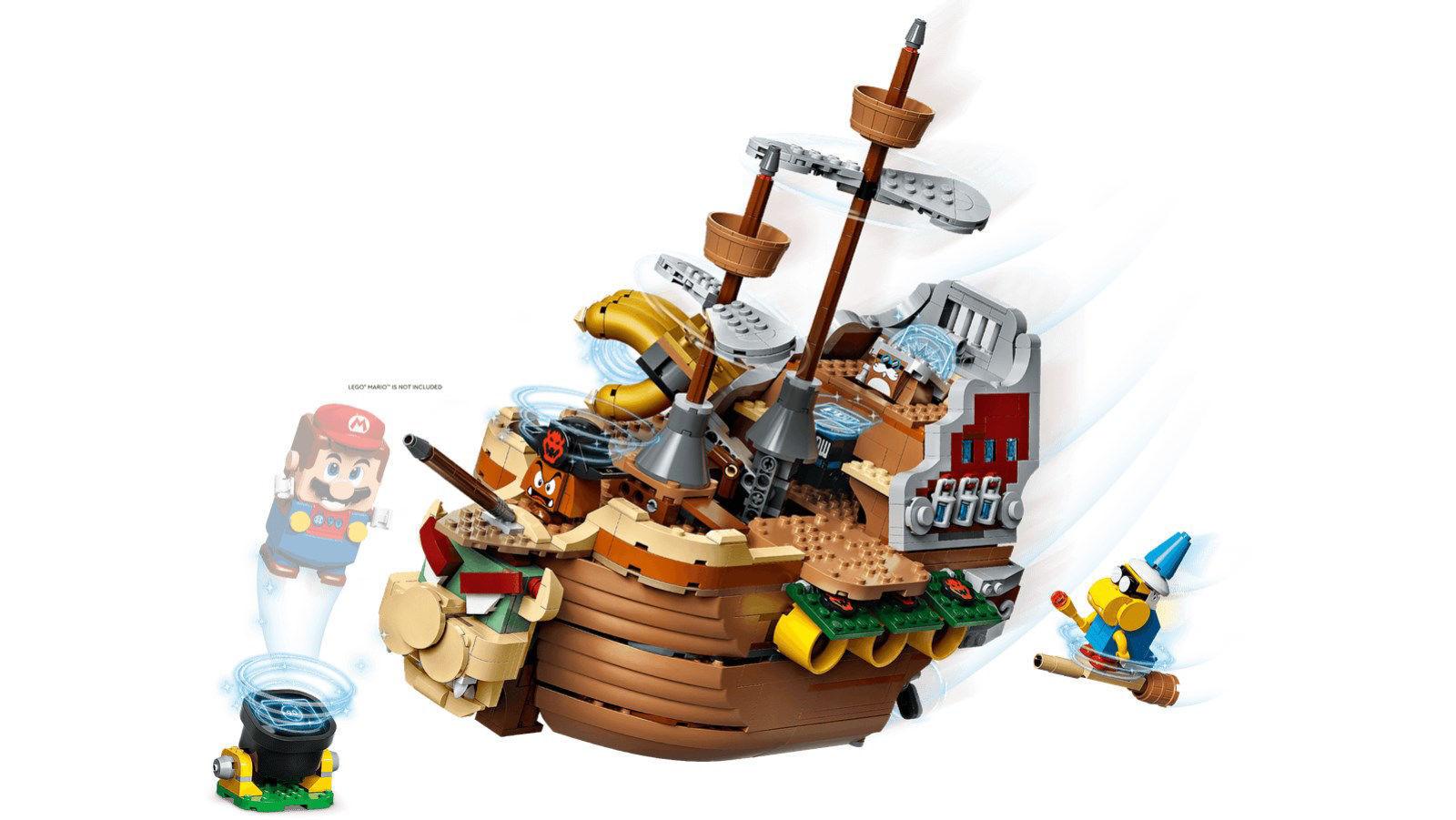 Lego Bowser's Airship Expansion Set