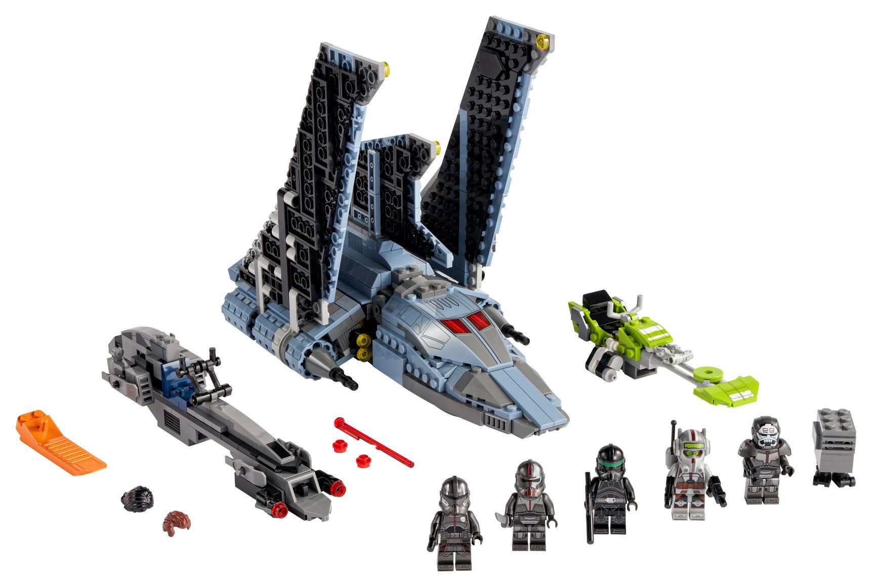 Изображение LEGO Star Wars The Bad Batch Attack Shuttle 75314